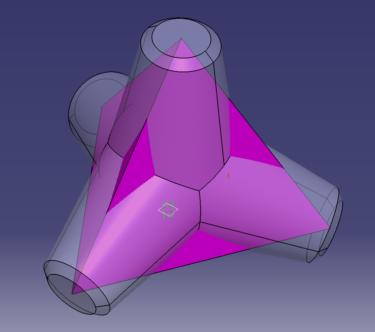 テトラポッドを作ってみよう その1 3Dモデリング  正四面体