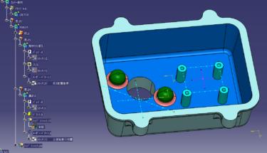 CATIA V5 平面基準で作るソリットモデリング2