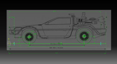 CATIA V5 DeLorean 3D-modeling Lesson 1