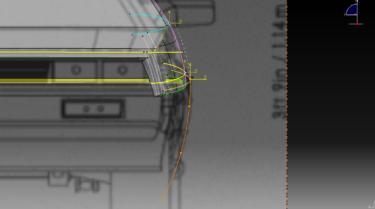 CATIA V5 DeLorean 3D-modeling Lesson 4