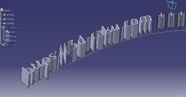 CATIA テキスト文字のスケッチが簡単にできる無料ソフト Txt2Sketch
